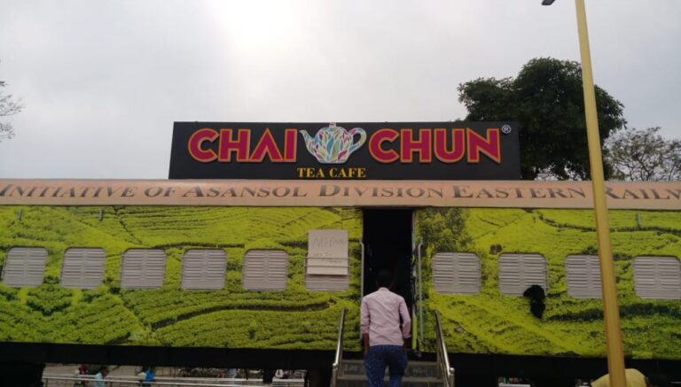 'Chai Chun Tea cafe' is Indian Railway's restaurant on wheels at Asansol Station