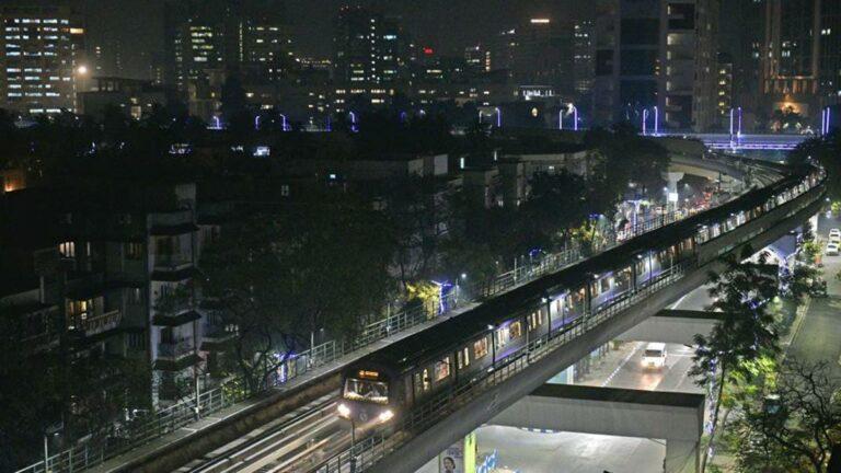 First underground station of Phoolbagan on Kolkata East-West Metro taking shape