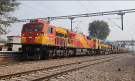 Railways speeds up Freight traffic : In month of July average speed of freight trains around double as compare to last year
