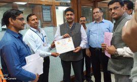 Delhi Division, Northern Railway honours three Employees through Safety Award
