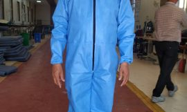 Indian Railways plans to produce over 30,000  coveralls ( PPEs) in April 2020