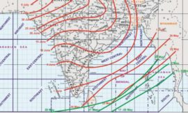 Conditions are favourable from 1st June 2020 for onset of southwest Monsoon over Kerala
