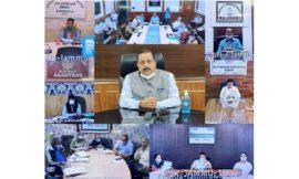 Dr Jitendra Singh discusses steps to expedite the Corona sample testing procedure in Jammu & Kashmir