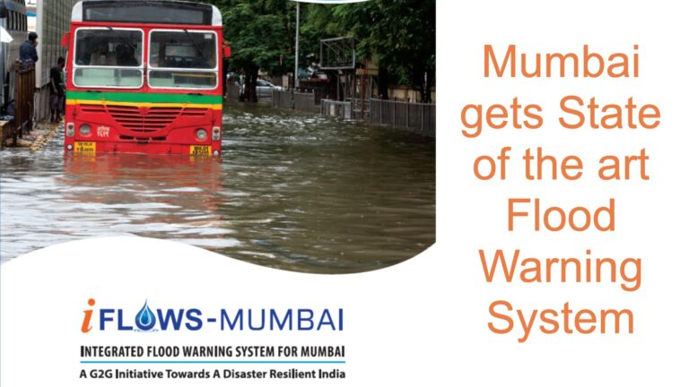 Mumbai gets State-of-the-art Flood Warning System