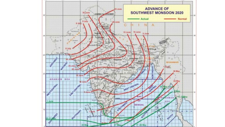 IMD declares Onset of Southwest Monsoon over Kerala