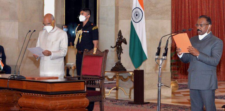 G C Murmu Takes over as CAG of India