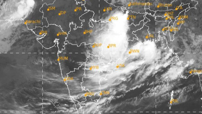 Odisha gets downpour from Monsoon Clouds